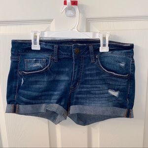 Aeropostale Blue Jean Shorts